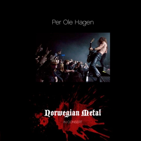The front page of the catalogue Norwegian Metal - in Concert by Per Ole Hagen