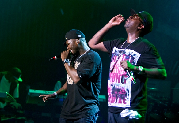 50 Cent and Tony Yayo. © All rights Reserved: Per Ole Hagen