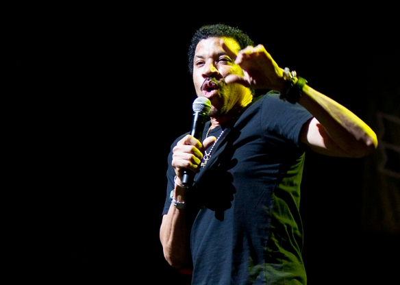 Lionel Richie. Copyright All Rights Reserved: Per Ole Hagen