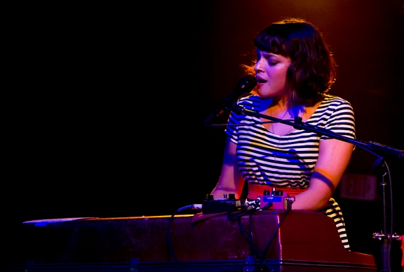 Norah Jones at the SXSW 2012. © All Rights Reserved: Per Ole Hagen