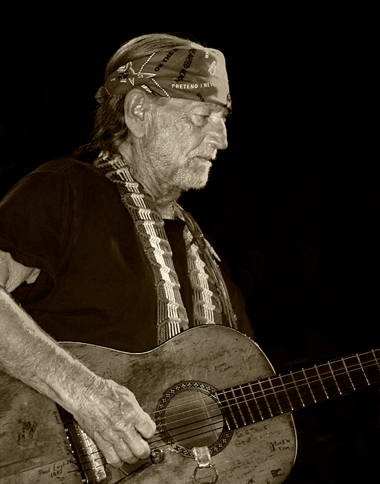 Willie Nelson at SXSW 2003. © Per Ole Hagen