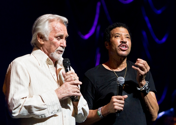 Kenny Rogers and Lionel Richie © All RIghts Reserved Per Ole Hagen