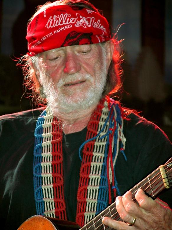 Willie Nelson at SXSW. © Per Ole Hagen