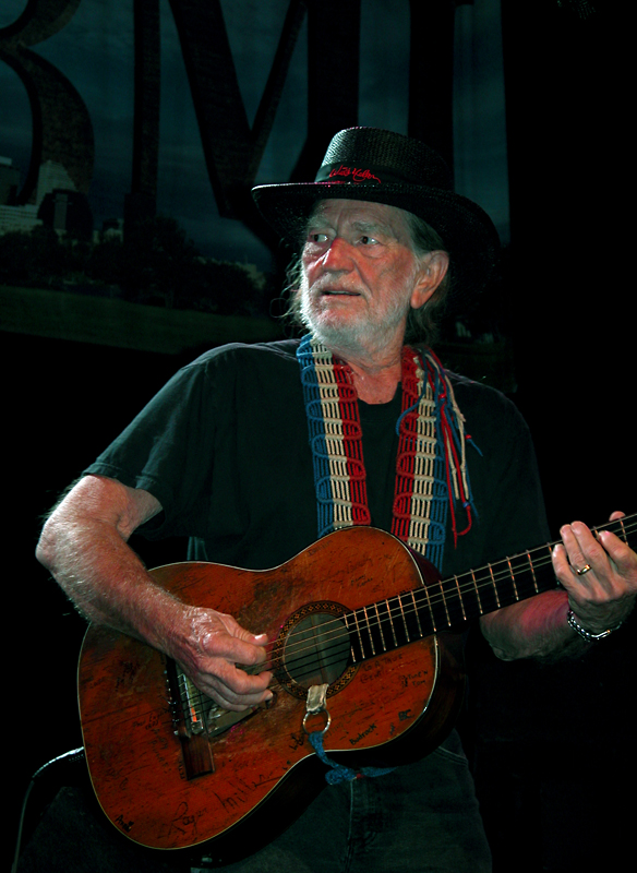 Willie Nelson at SXSW. © Per Ole Hagen