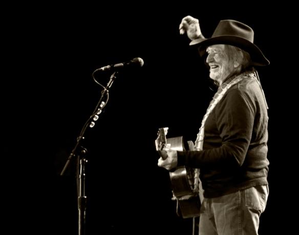 Willie Nelson in Norway 2008. © Per Ole Hagen