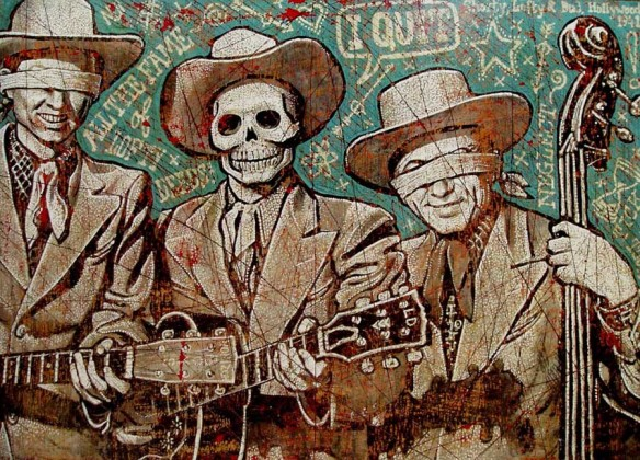 Lofty Deeds. © Jon Langford