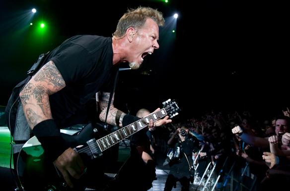 Metallica in Oslo 2010. © Per Ole Hagen