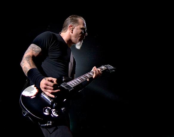 Metallica in Oslo 2009. © Per Ole Hagen