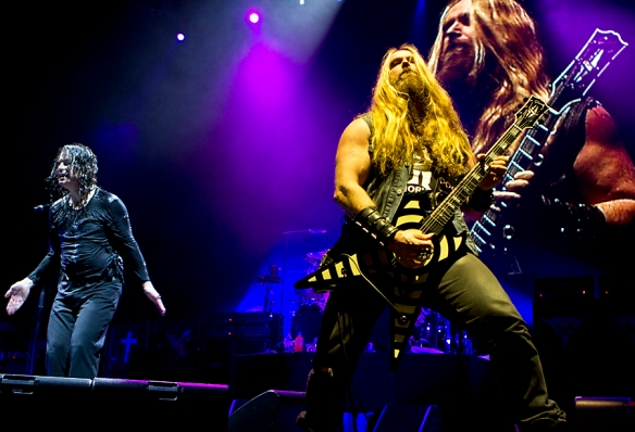 Ozzy Osbourne and Zakk Wylde © Per Ole Hagen
