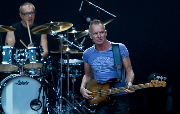 Sting and Vinnie Colaiuta at Norwegian Wood © Per Ole Hagen