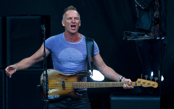 Sting at Norwegian Wood © Per Ole Hagen