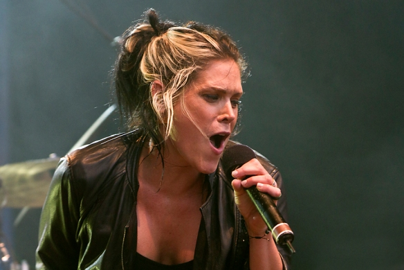 Beth Hart at the Notodden Blues Festival 2011. © Per Ole Hagen