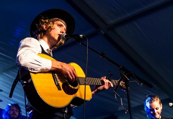 Jonas Alaska at Steinkjerfestivalen © Per Ole Hagen