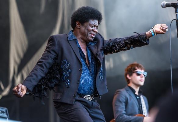 Charles Bradley at Øyafestivalen. © Per Ole Hagen