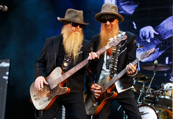 ZZ Top at Notodden © Per Ole Hagen