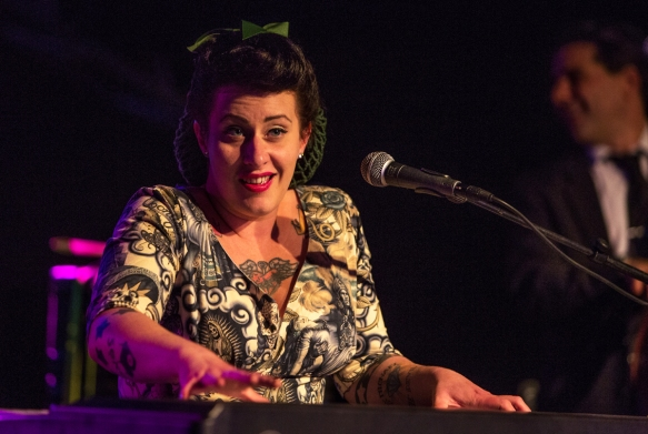 Davina And The Vagabonds at Blues in Hell © Per Ole Hagen