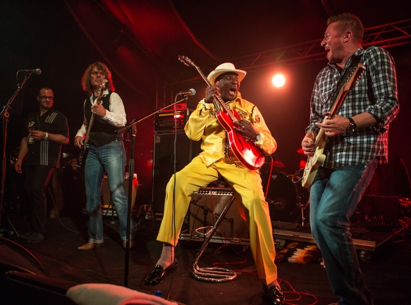 Eddy Clearwater at Blues in Hell © Per Ole Hagen