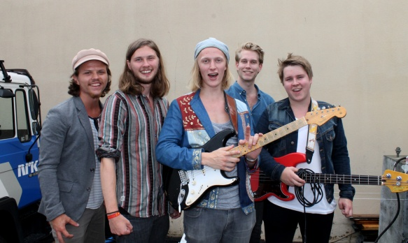 Marcus Lovdal Band © Rune Endal/BluesNews