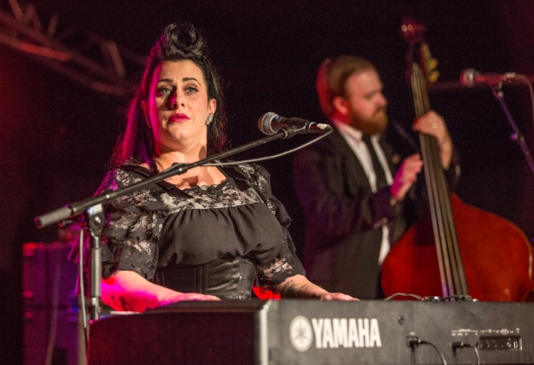 Davina & The Vagabonds © Per Ole Hagen