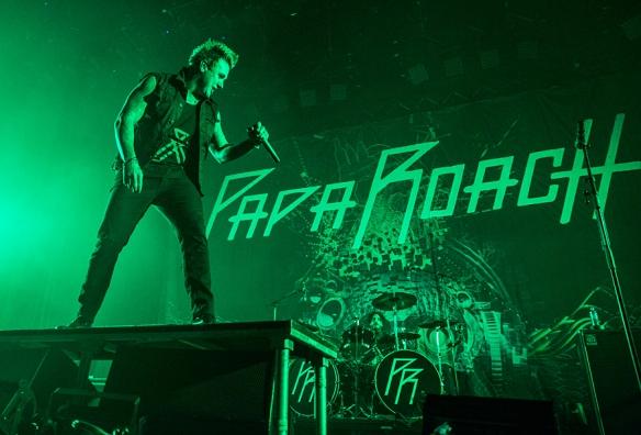 Papa Roach © Per Ole Hagen