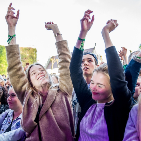 Alt-J fans © Per Ole Hagen