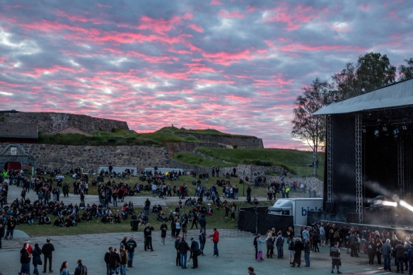 Evening clouds Tons of Rock © Per Ole Hagen