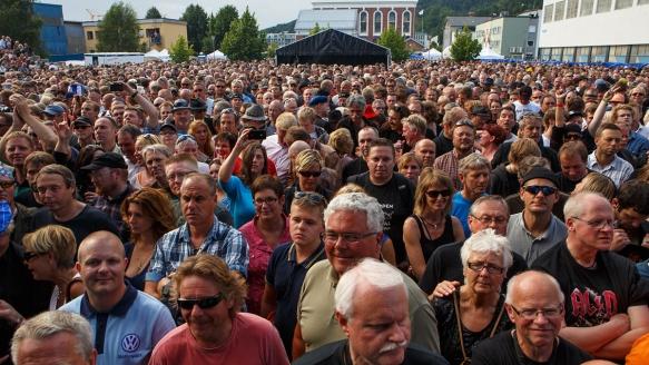 Publikum Notodden © Per Ole Hagen