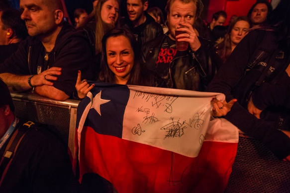 Fan from Chile © Per Ole Hagen